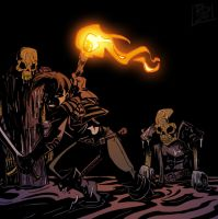 Bones, rattling in the dark by RobD2003