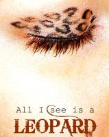 Leopard Makeup Print by ilonaa
