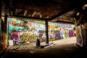 London Urban exploration by DelNg
