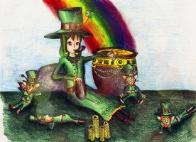 St. Patrick's Day~Leprechaun Style by AmberFiresword