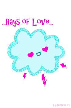Rays of Love... by miercoles666