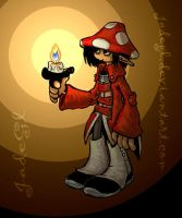 Elf with candle - Duendes by JadeGL