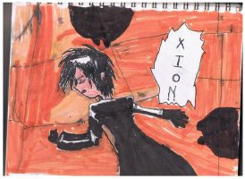Xion Passed Out by ienzo628