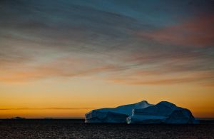 Antarctic Sunset III by AlterEgoPhotography