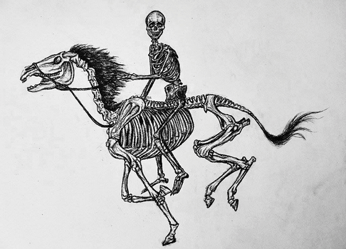 Rider of the Scorched Earth (better photo) by PresteArt