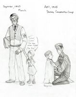 The Unknown Martyr...Transformation sketches by Chrissyissypoo19