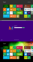 Windows 8 Screenshot Real by Ruanmei