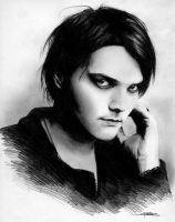 Gerard Way by eaglefour