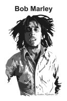 Bob Marley vector SAMPLE by justin33k