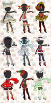 CLOSED: SLEIGH TIME ADOPTABLE AUCTION by Lolisoup