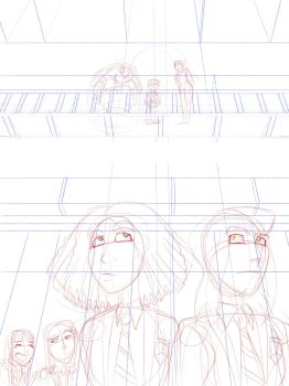 Homeroom Cover WIP by What-the-Gaff