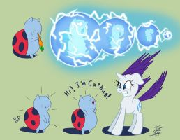Catbug Surprise by Tsitra360