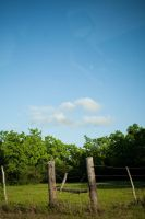 clouds Fence by VioletBreezeStock