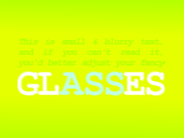 glASSes by palmouth