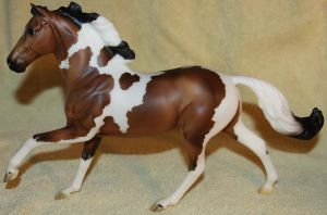 Breyer Stoneleigh Surprise - Paint - Stock 1 by Lovely-DreamCatcher