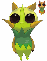 Fakemon Bayeay by Pand-ASS