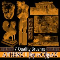 Athens 1 Brushes by inObrAS