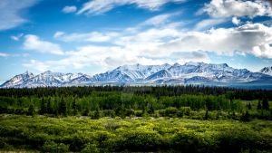 Alaska View by Crocy
