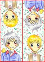 Prussia HRE bookmark by Jeananas