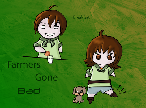 Farmers Gone Bad Art Series by Queen-Yarbo