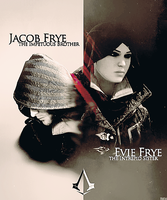 Evie and Jacob Frye - Assassin's creed Syndicate by YamiMana