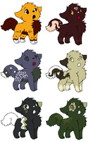 Little Puppy Pointables by PikPik-Adoption