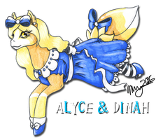 Alyce and Dinah by Khimera