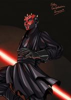 Darth Maul by Rowein