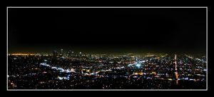 Los Angeles by Night by SurfGuy3