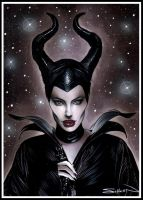Maleficent by RandySiplon