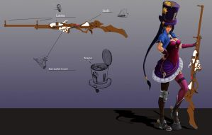 Caitlyn visual update idea by Nahkuman