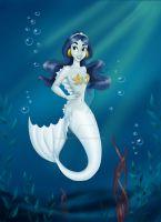 Jasmine Mermaid 2: Commission by madmoiselleclau