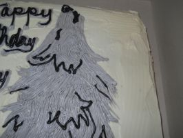 Wolf Cake Top Detail by MysteriousFoxThief