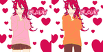 Flaky Female And Male by movielover100