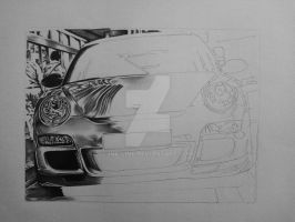 Porsche 911 GT3-RS (WIP 1) by ink-line