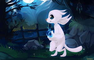 Ori and the blind forest by MaskaMc5