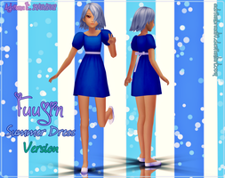 Newcomer Fuujin Summer Dress Version DL by Adrianbrazt10