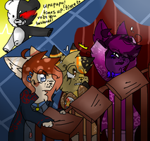 | !Times Up And Choose Who Is The Culprit! | by snickIett