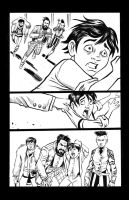 Old West Monster Comic Page 3 by TessFowler