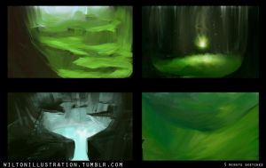 4 environment thumbnails by My57