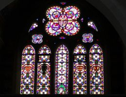 Stained glass windows from St Peter and St Paul's by loganmiracle