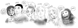 LOST boys by FuriarossaAndMimma