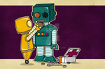 Robots on Friendship by inalo