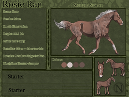 Rosie Rae Reference--FOR SALE by catheetiem