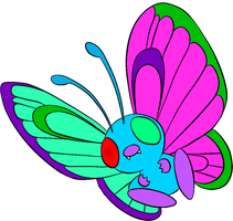 Wing Tune the Butterfree by kasanelover