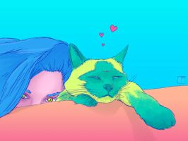 Cat Love 2 by SuperPhazed