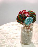 Sweet Colorful Candy by ChocolateDecadence