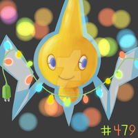 Day 4 - Rotom by B-VERR