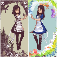 Alice Madness Returns by chiickadee