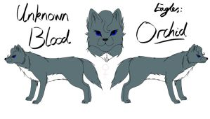 Unknown Blood - Orchid Reference by fluffylovey